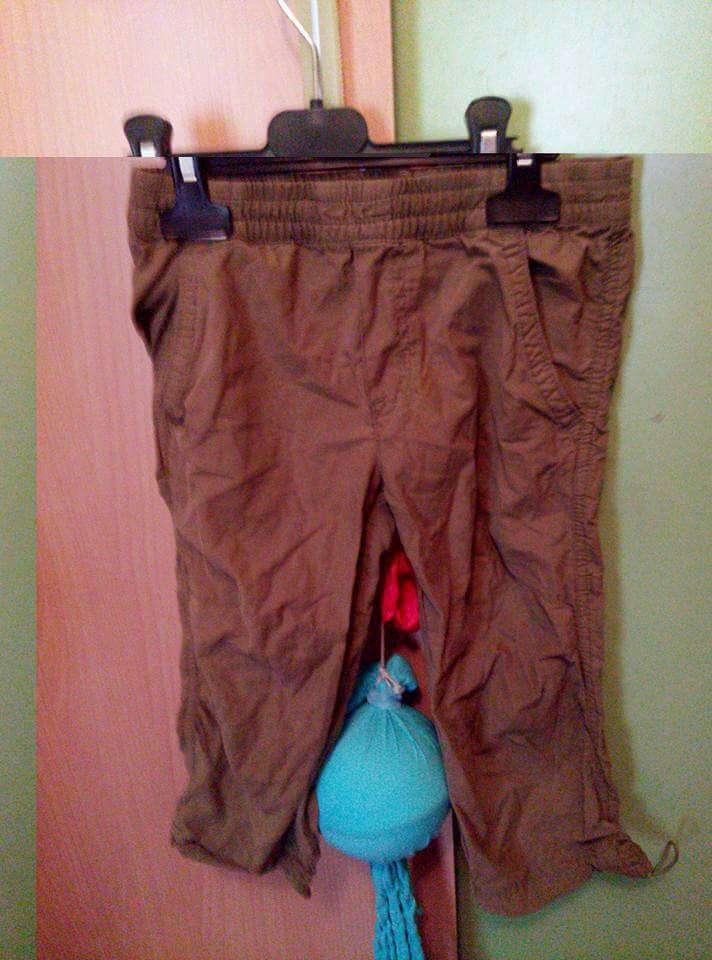 Imagen pantalón verde talla 3