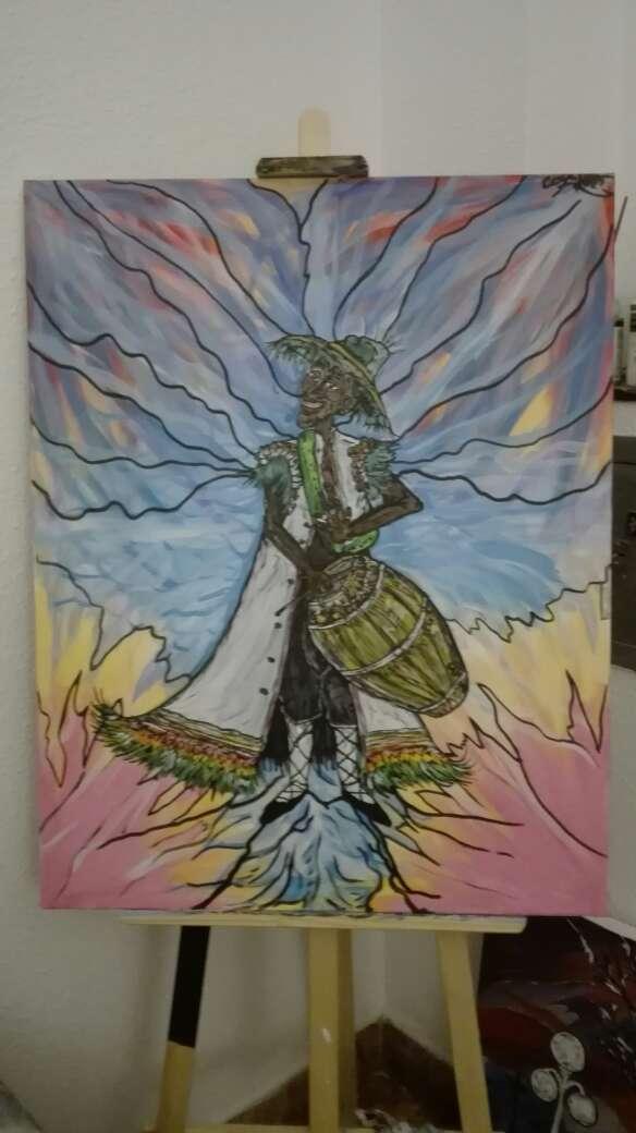 Imagen cuadro pintado
