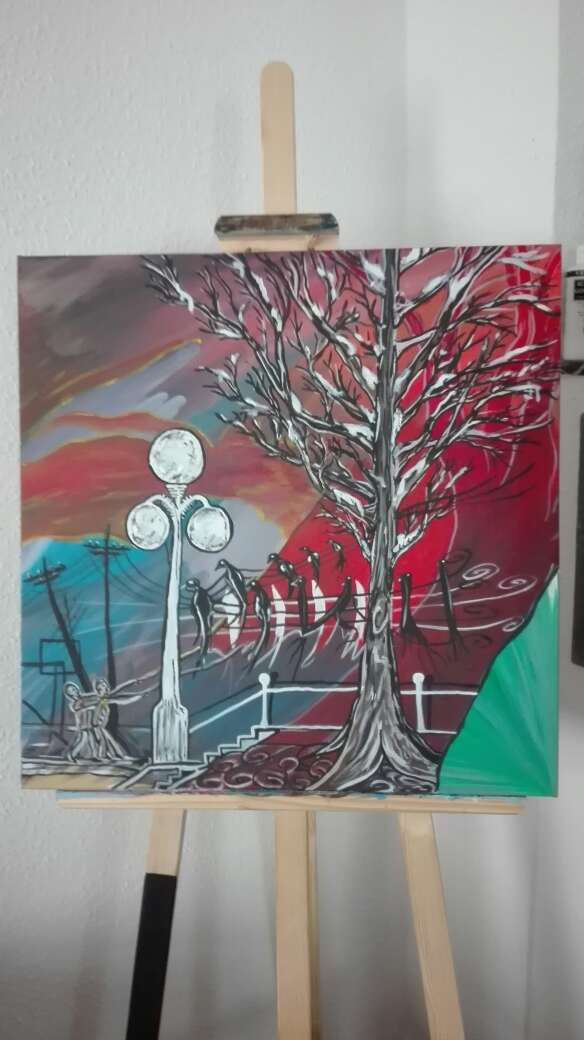 Imagen pintura artista
