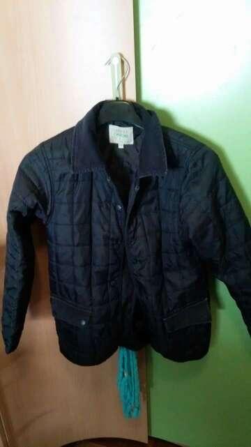 Imagen abrigo azul talla 8/9-6€