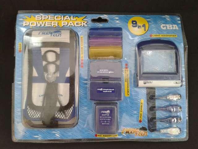 Imagen Pack accesorios GBA 9 en 1