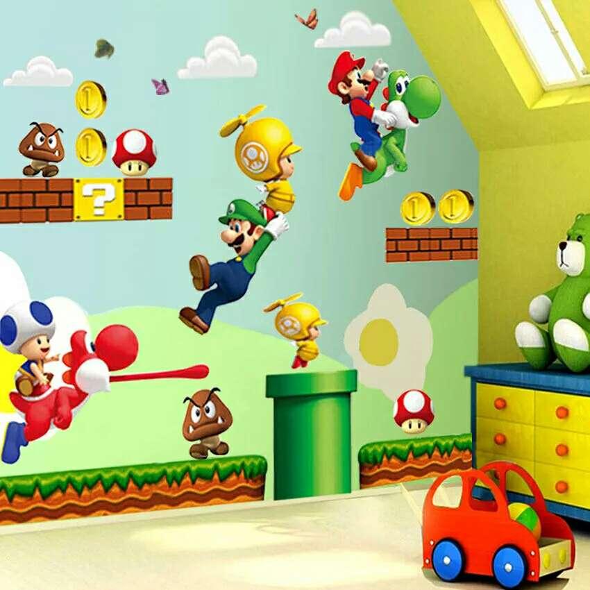 Imagen Vinilo decorativo Super Mario Bros