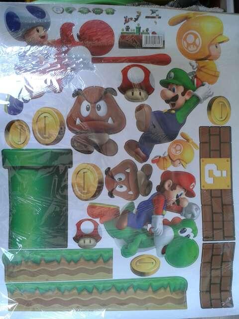 Imagen producto Vinilo decorativo Super Mario Bros 2