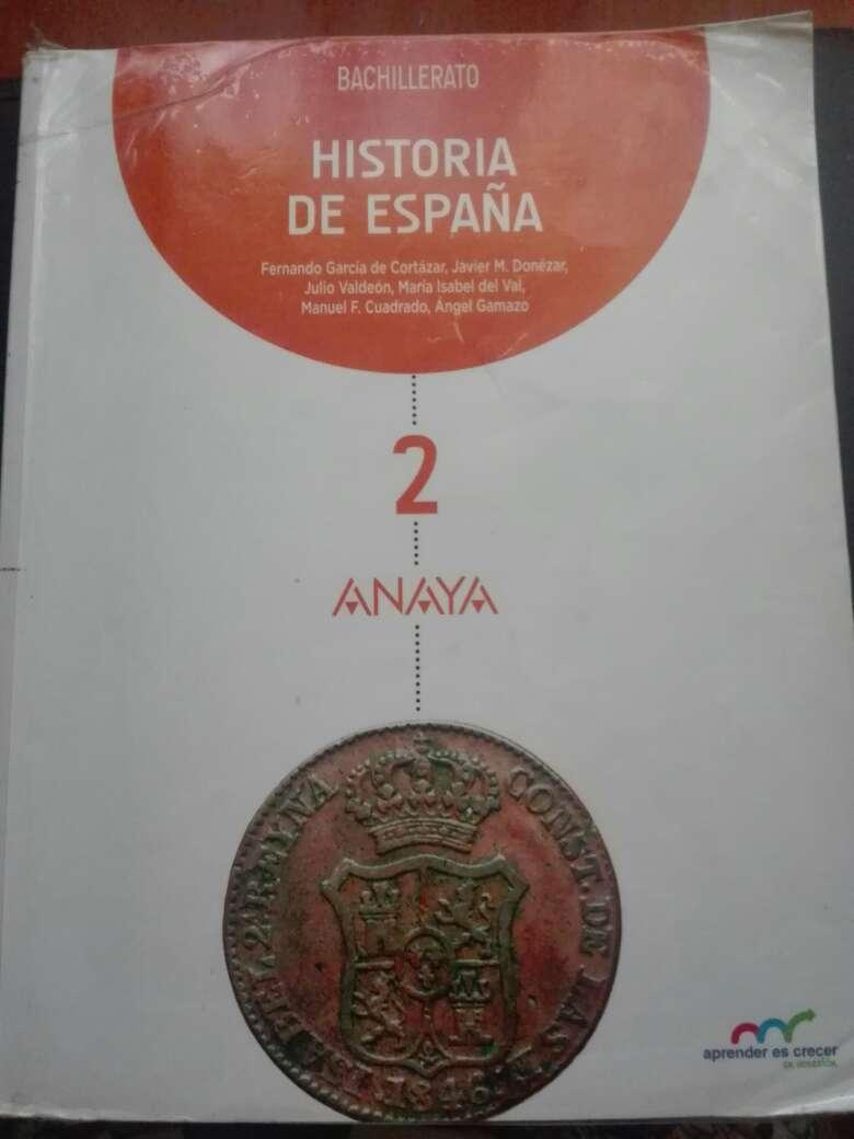 Imagen Libro de Historia