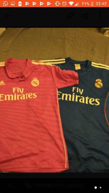 Imagen camiseta Real Madrid
