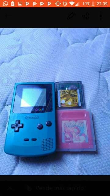 Imagen Game boy color con juegos
