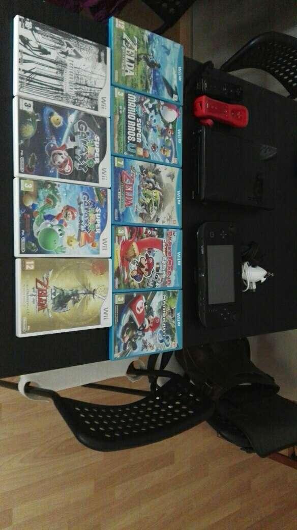Imagen Nintendo Wii U con juegos