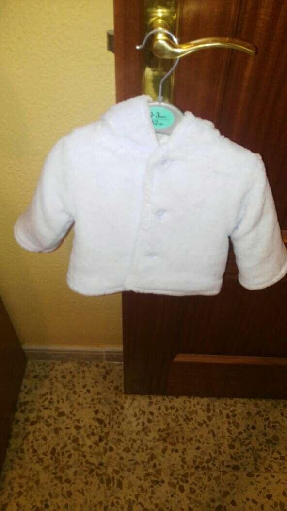 Imagen sin uso chaquetita celeste