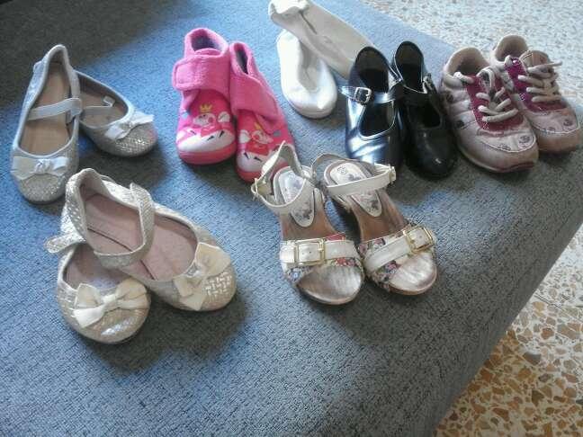 Imagen zapatos niña talla 25/26