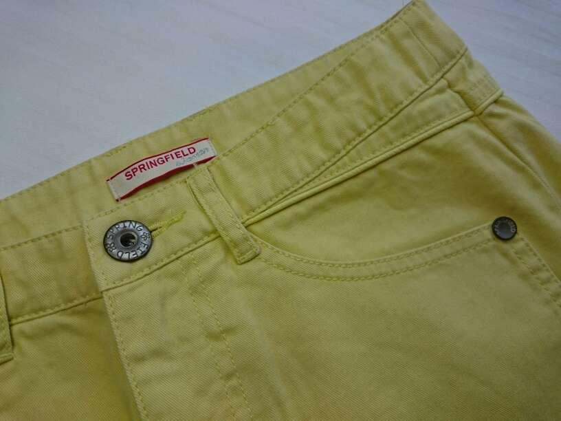 Imagen producto SPRINGFIELD Minifalda amarillo pastel  3