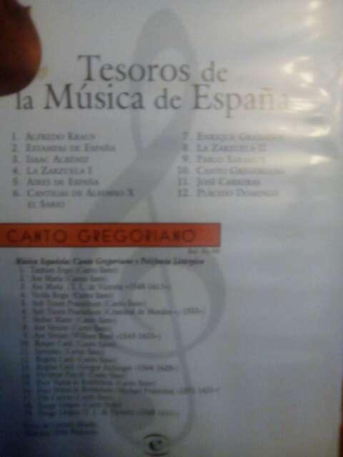 Imagen producto Tesoros de la música de España 2