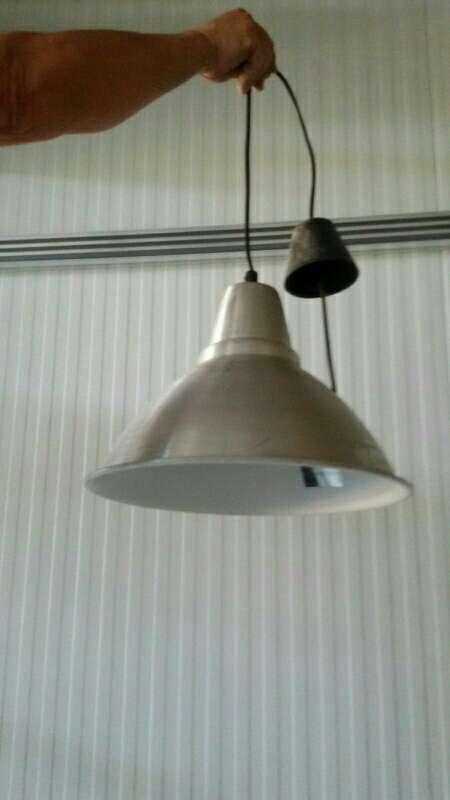 Imagen lampara de aluminio