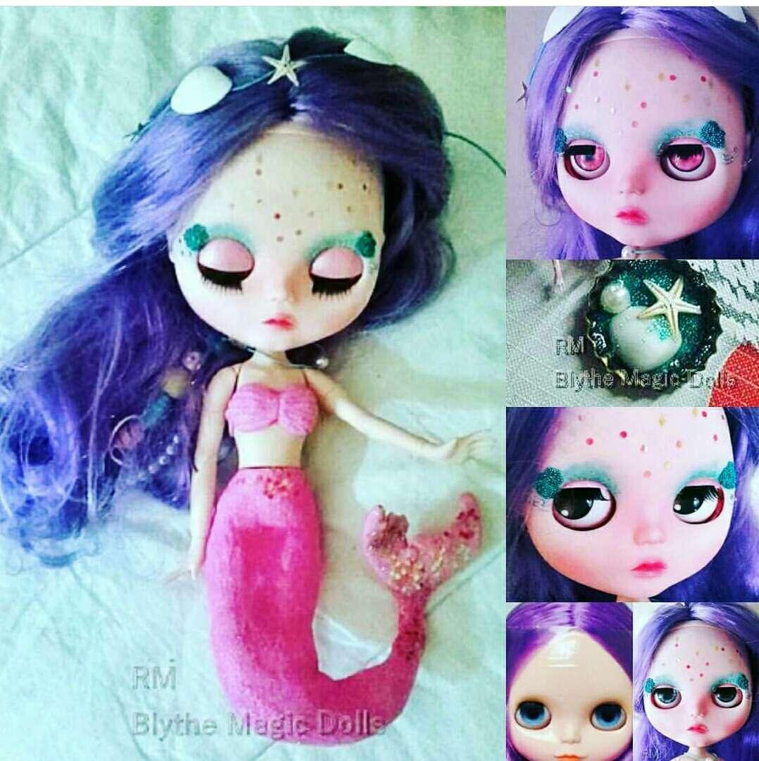 Imagen Custom blythe tbl perla sirena