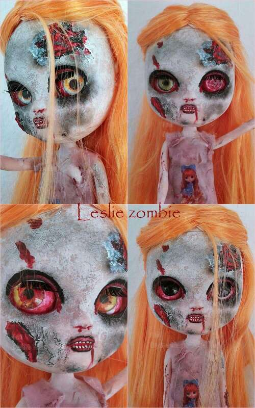 Imagen custom icy doll zombie leslie