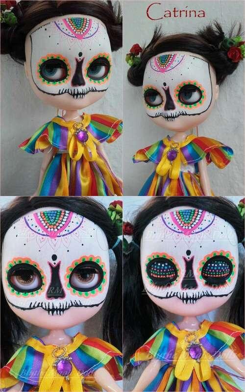 Imagen Custom icy doll catrina