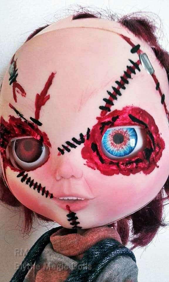 Imagen producto Custom blythe tbl chucky el muñeco diabólico 3