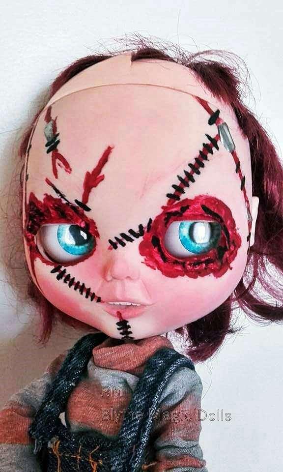 Imagen producto Custom blythe tbl chucky el muñeco diabólico 2