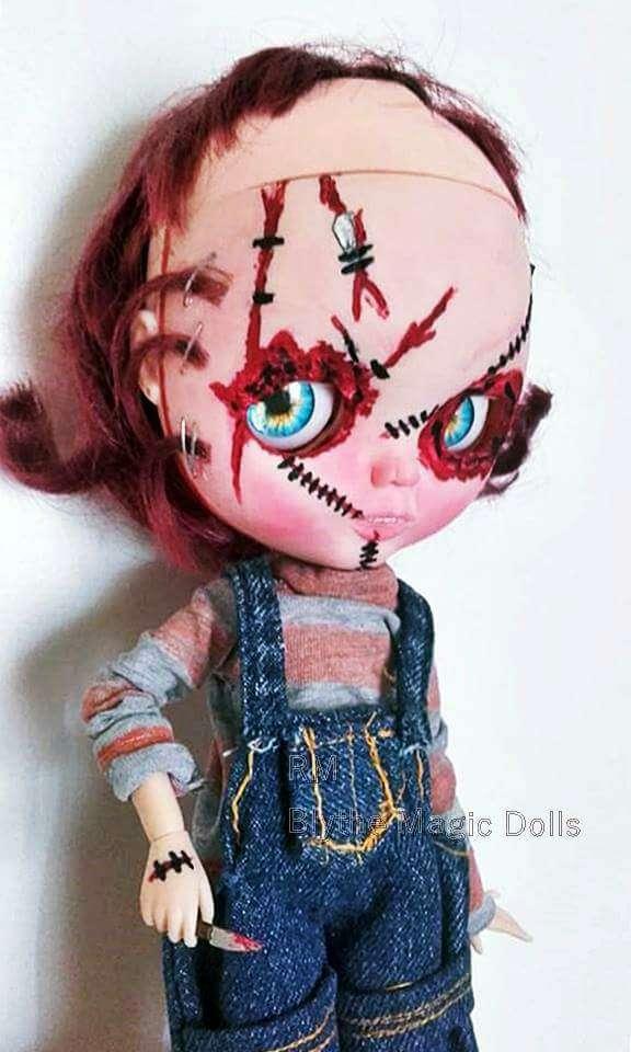 Imagen Custom blythe tbl chucky el muñeco diabólico