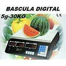 Imagen bascula comercio hasta 30 kilos