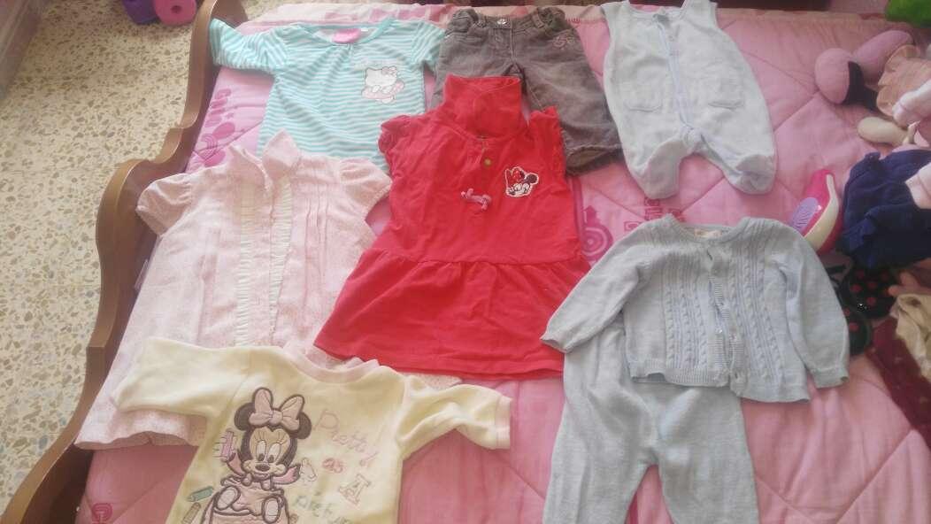 Imagen ropa bebé todo el lote