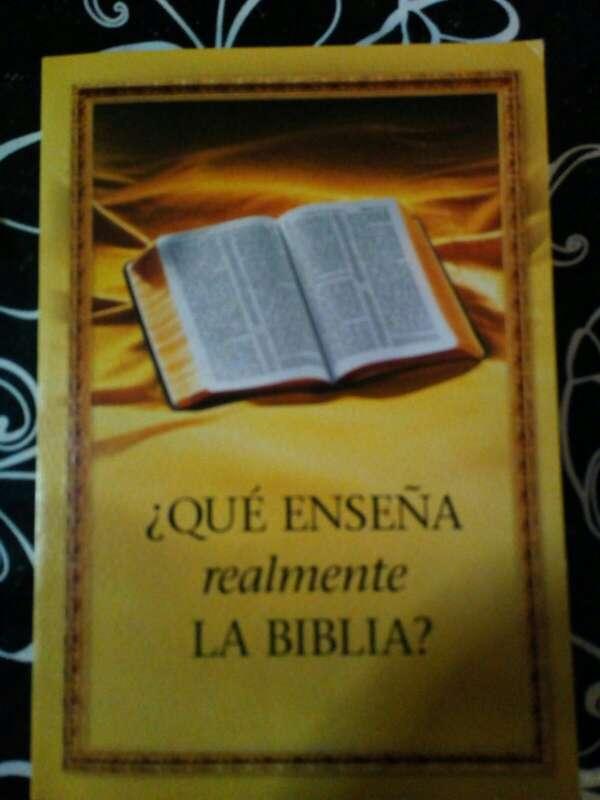 Imagen Que enseña realmente la Biblia