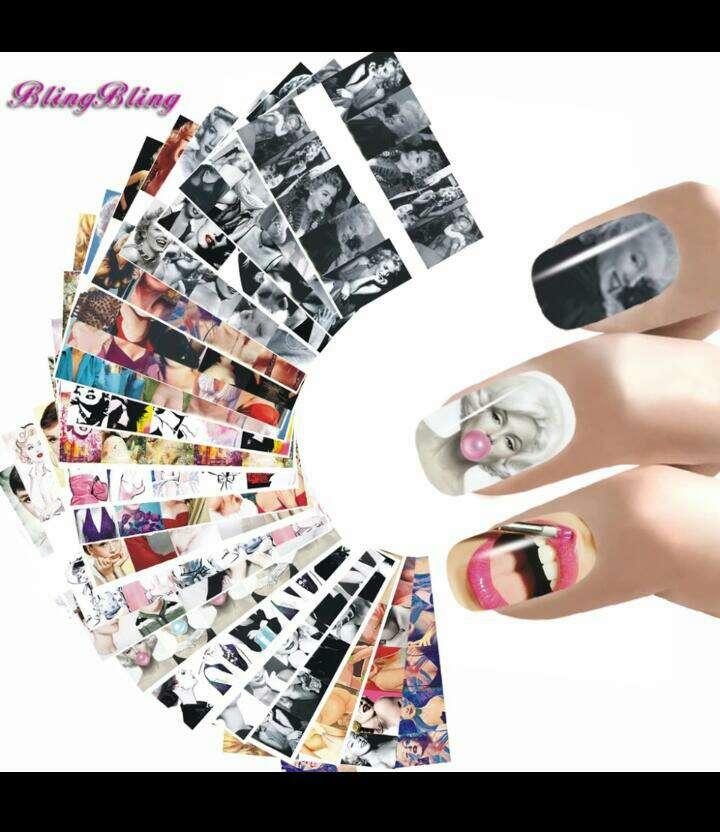 Imagen producto Pegatinas para uñas 2