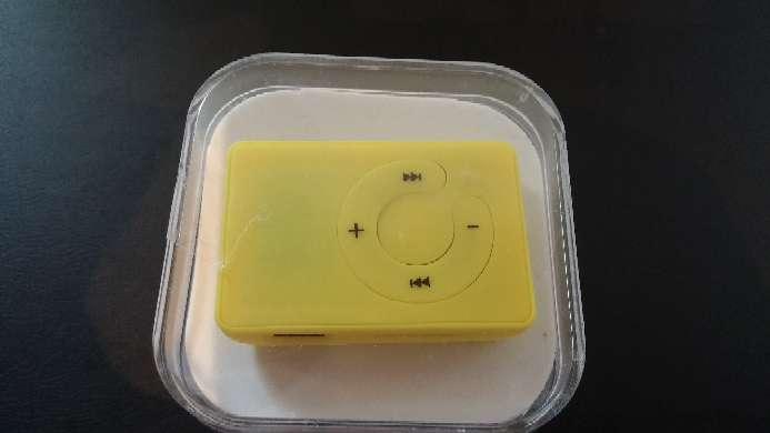 Imagen producto Mp3 amarillo 2