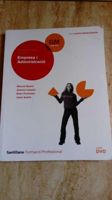 Imagen Libro Grado Medio Empresa I administración