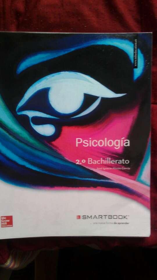 Imagen producto Libro de Psicología de Bachillerato 2