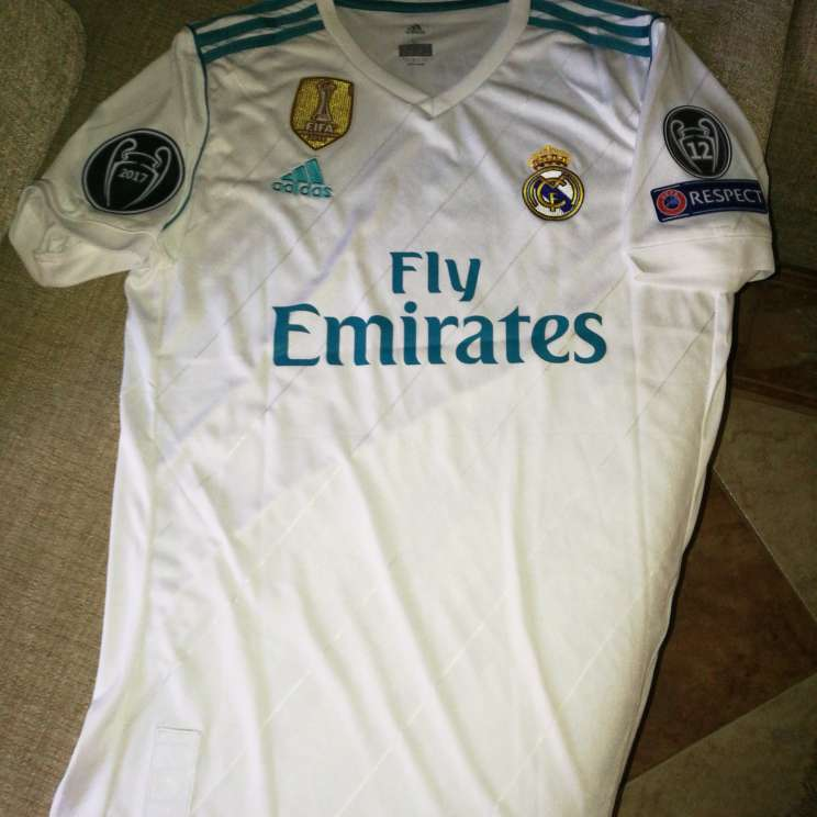 Imagen Camiseta Real Madrid 2017/2018