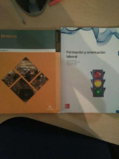 Imagen libros grado medio primer año de elctromecanica de vehiculos