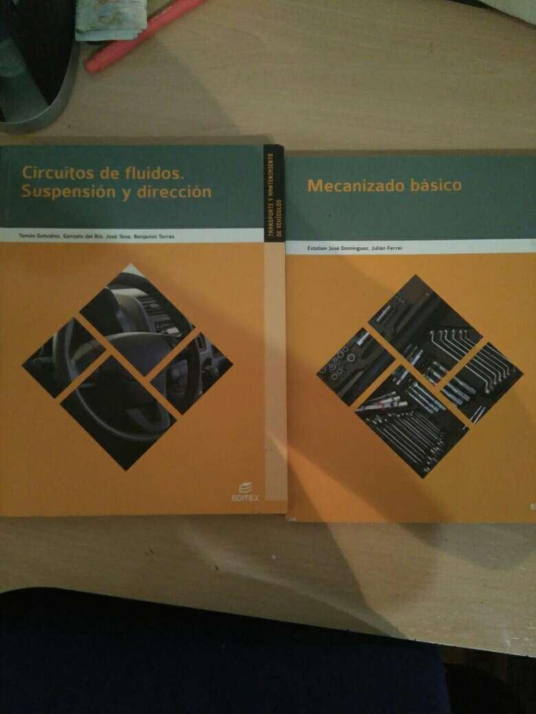Imagen producto Libros grado medio primer año de elctromecanica de vehiculos 2