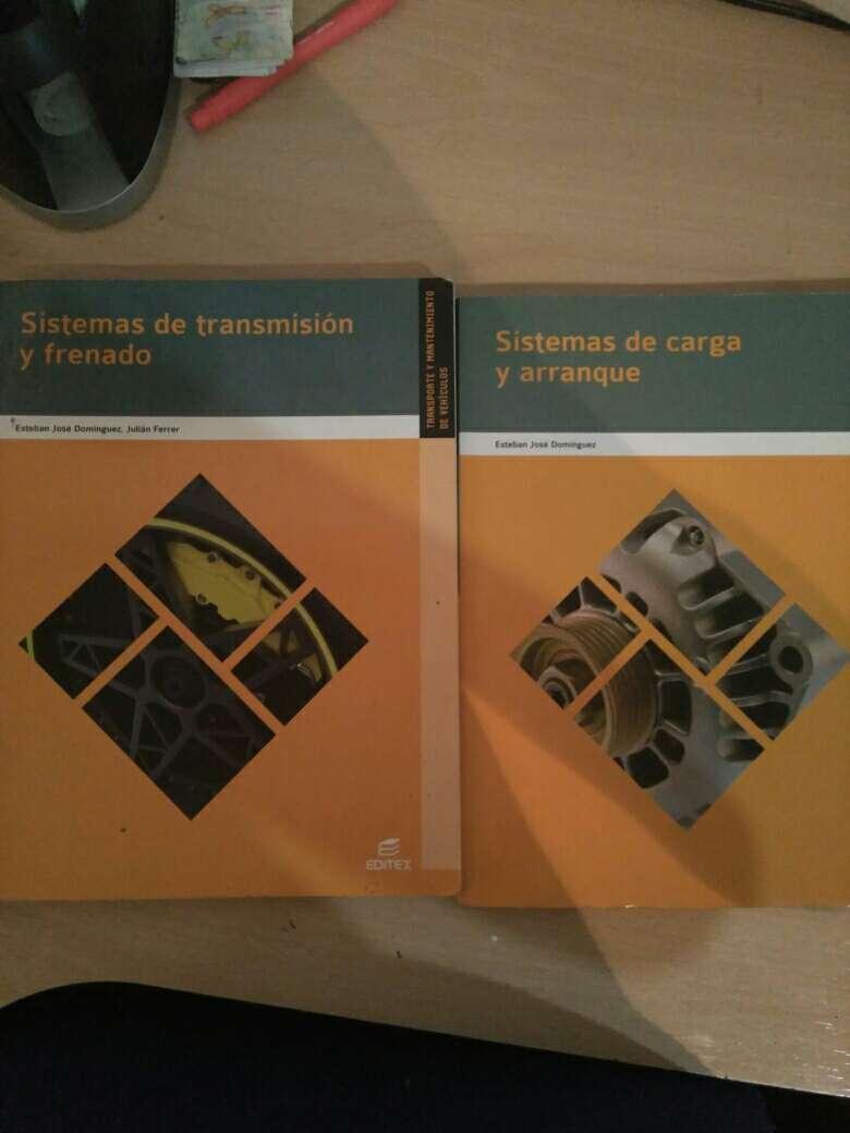 Imagen producto Libros grado medio primer año de elctromecanica de vehiculos 3