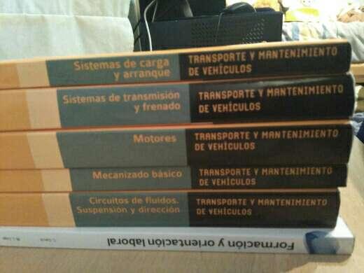Imagen producto Libros grado medio primer año de elctromecanica de vehiculos 4