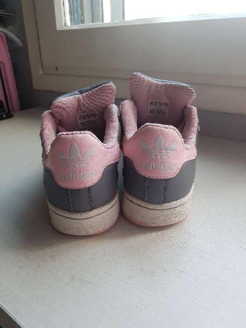 Imagen producto Deportivas Adidas grises y rosas  3