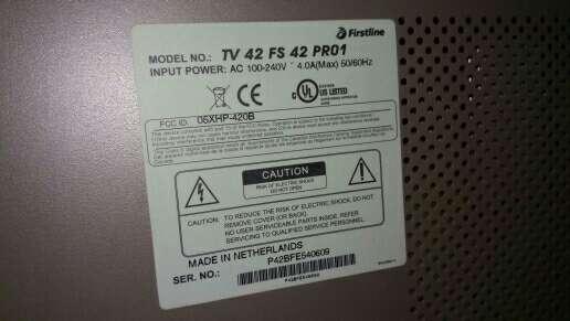 Imagen producto Tv 42 pulgadas  3