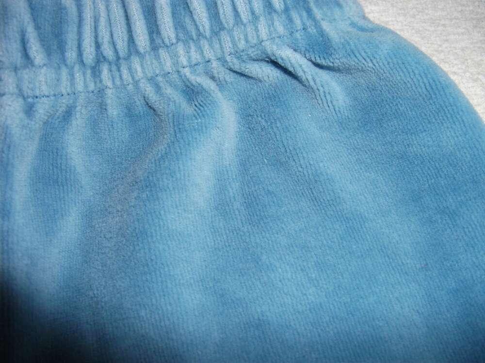 Imagen producto Pantalón celeste de terciopelo  2