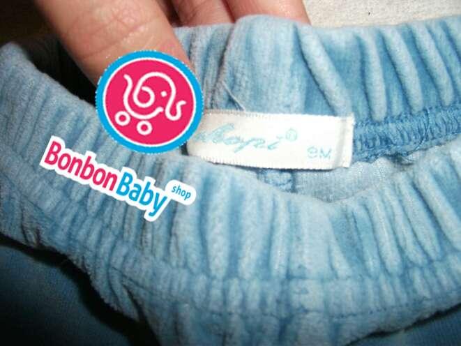 Imagen producto Pantalón celeste de terciopelo  3