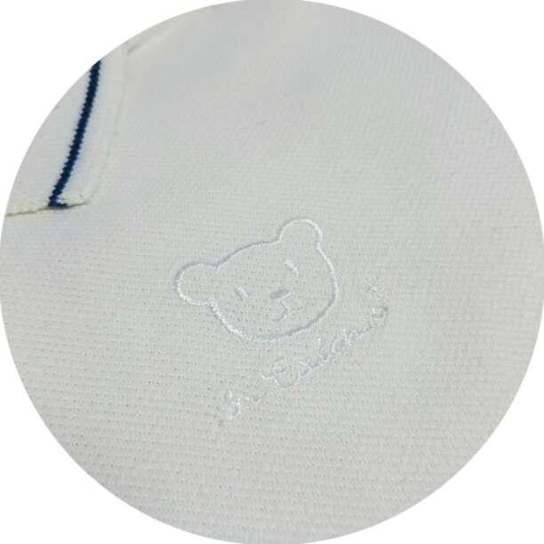 Imagen producto Polo Blanco Y Pantalón marino  2