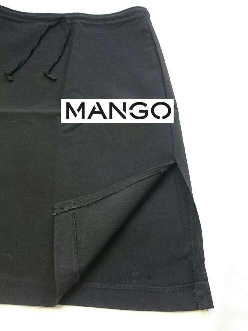 Imagen producto MANGO Falda midi vintage  1
