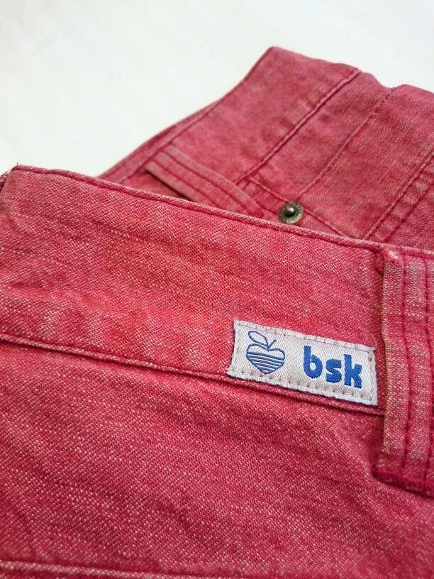 Imagen producto Minifalda roja vintage  2