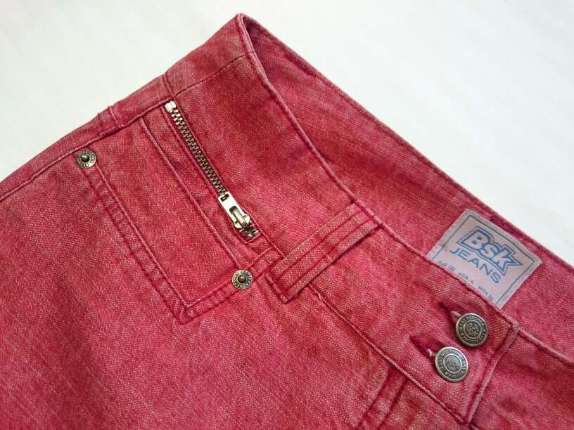 Imagen producto Minifalda roja vintage  4