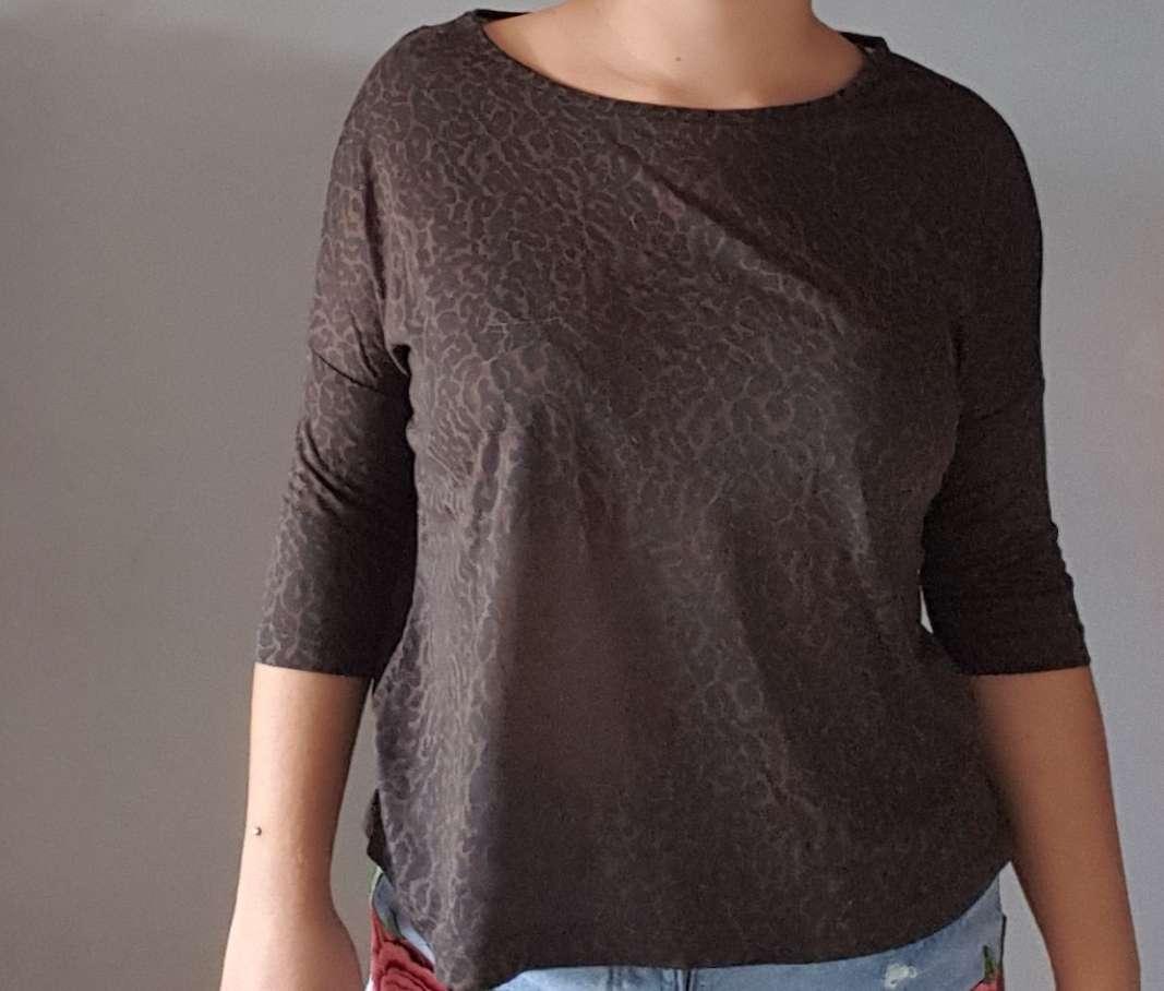 Imagen producto Camiseta suelta leopardo TXS  1