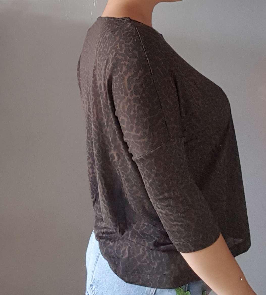 Imagen producto Camiseta suelta leopardo TXS  3