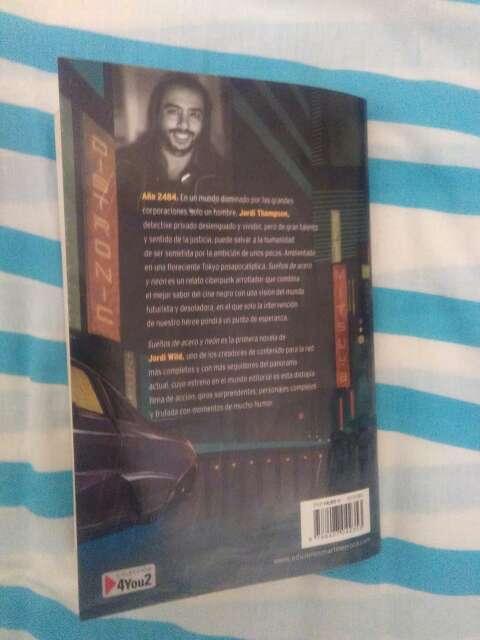 Imagen producto Libro sueños de acero y neon 2