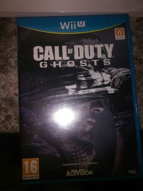 Imagen call of duty Ghost Wii u
