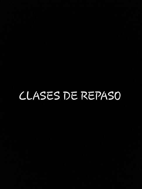 Imagen Clases de Repaso