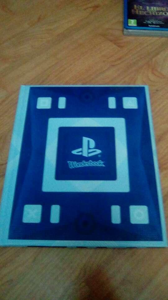 Imagen producto Wonderbook libro + juego ps3 + caja.  3