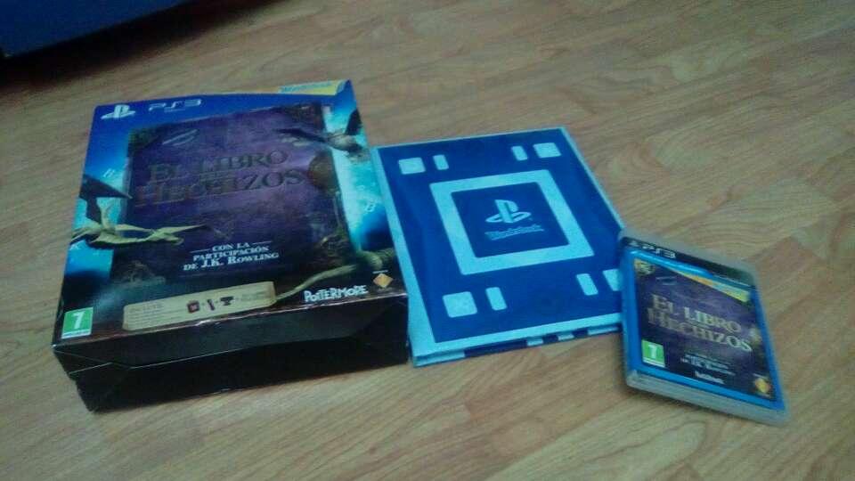 Imagen producto Wonderbook libro + juego ps3 + caja.  4