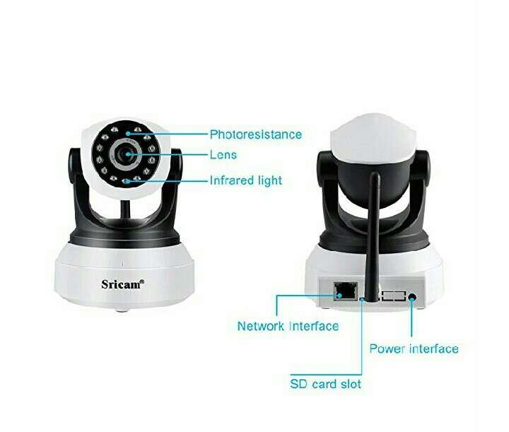 Imagen producto Camara ip con wifi y nocturna 3